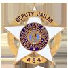 Deputy jailer badge