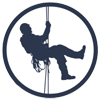 Rope rescue circle logo